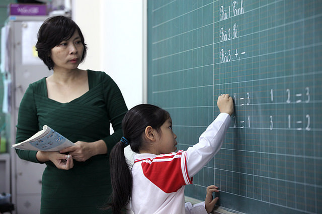"""""""Quan tâm nhất là tinh thần giáo viên khi triển khai chương trình phổ thông mới"""""""