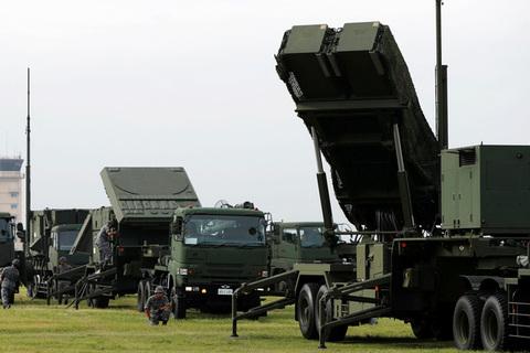 Nhật Bản diễn tập triển khai hệ thống phòng thủ tên lửa tại Tokyo