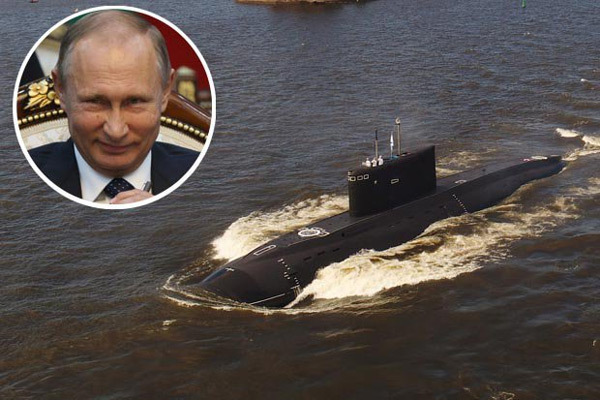 Putin điều 2 tàu ngầm mới toanh mang tên lửa diệt IS