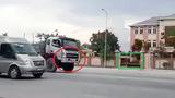 Nghệ An: Vun vút ngược chiều trước trạm CSGT
