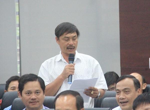 Ngư dân Bình Định ra Đà Nẵng tố cáo vụ tàu vỏ thép nằm bờ