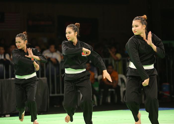 Nữ võ sĩ Silat Việt Nam đẹp hớp hồn ở SEA Games