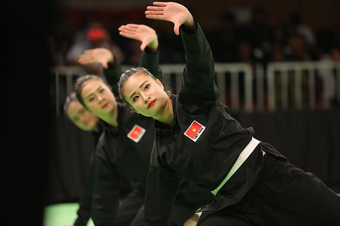 Nữ võ sĩ Silat Việt Nam, Pencak Silat, Pencak Silat SEA Games