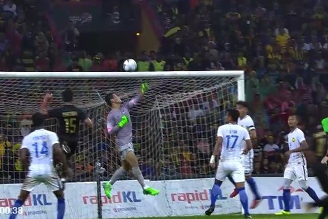 U22 Thái Lan 0-0 U22 Malaysia phút 39 goal