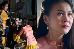 Thanh Hằng khóc vì mẹ chồng tàn ác Diễm My trên phim