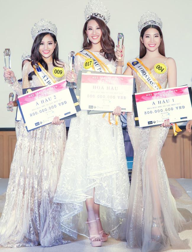 Yan My trở thành Á hậu 1 cuộc thi 'Hoa hậu Phụ nữ Sắc đẹp 2017'