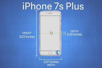 Hình dạng iPhone 7s và iPhone 7s Plus đã rõ như ban ngày