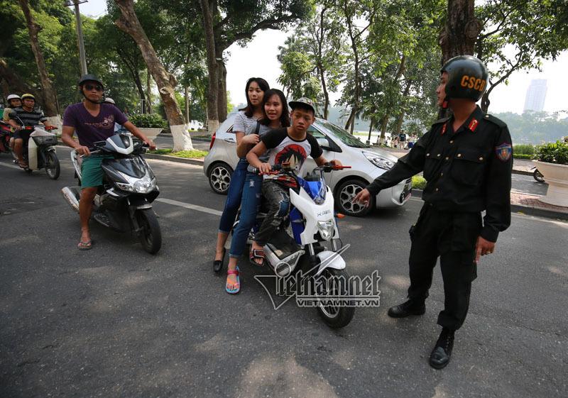 Cảnh sát cơ động có quyền xử phạt giao thông