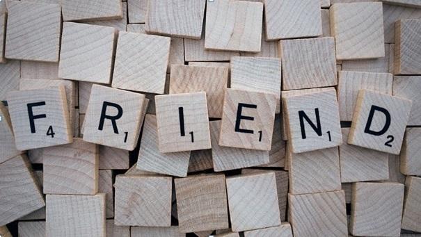 """Từ đồng nghĩa với """"friend"""""""