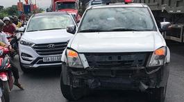 Tạm giam 2 tháng lái xe 'điên' đâm hỏng xe chuyên dụng CSGT
