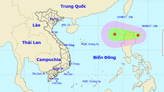 Áp thấp nhiệt đới mạnh cấp 7 tiến vào Biển Đông