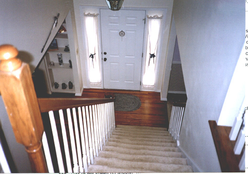 phong thủy, thiết kế nhà, cầu thang