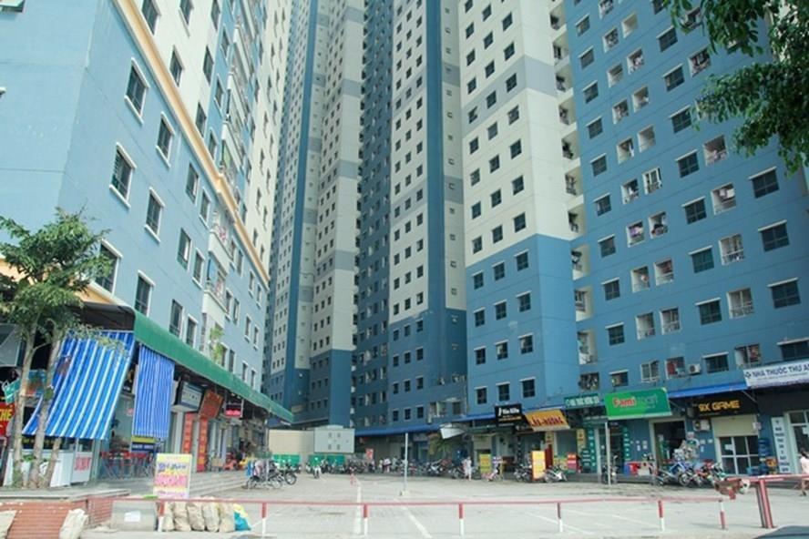chung cư Hà Nội, quy hoạch đô thị, bãi đỗ xe