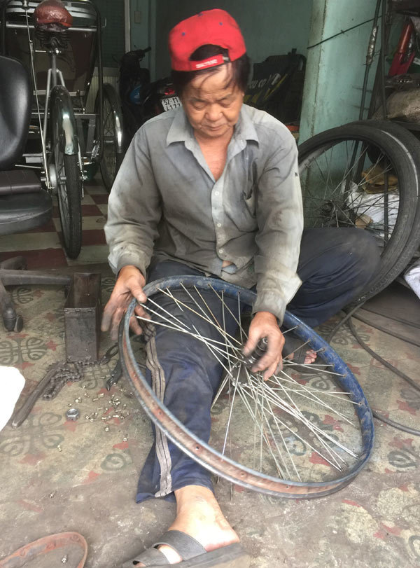 Sài Gòn xưa,Xích lô