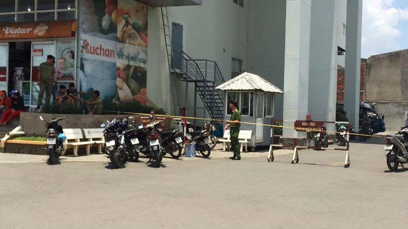 xác người, chung cư, Sài Gòn