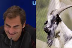 """Federer """"cứng họng"""" trước phóng viên nhí"""