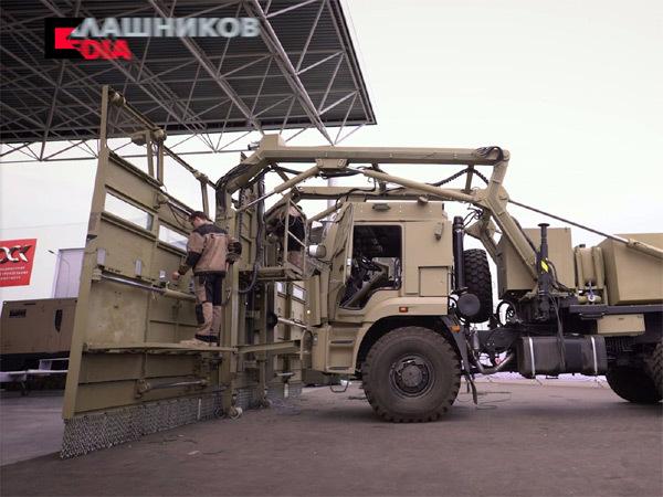 Nga, quái vật dẹp loạn, xe dẹp loạn Nga