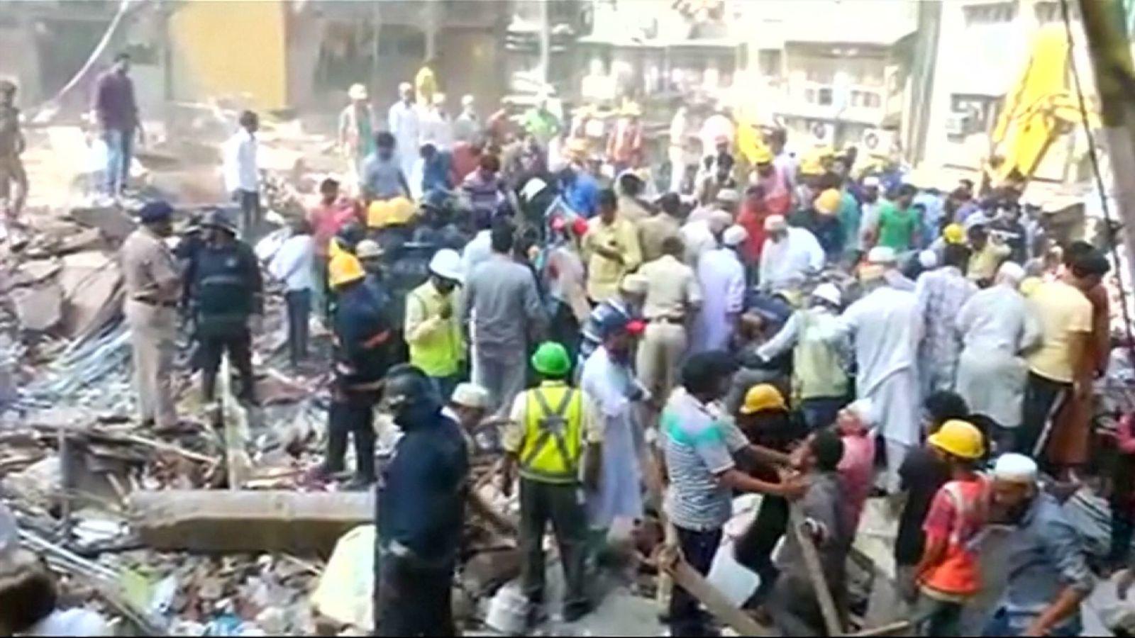 sập nhà, Mumbai, Ấn Độ, thiệt mạng