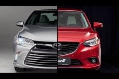 Cuộc đua tay đôi giữa Toyota Camry và Mazda6