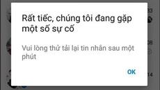 Nhiều người dùng Việt không thể nhắn tin bằng Facebook Messenger