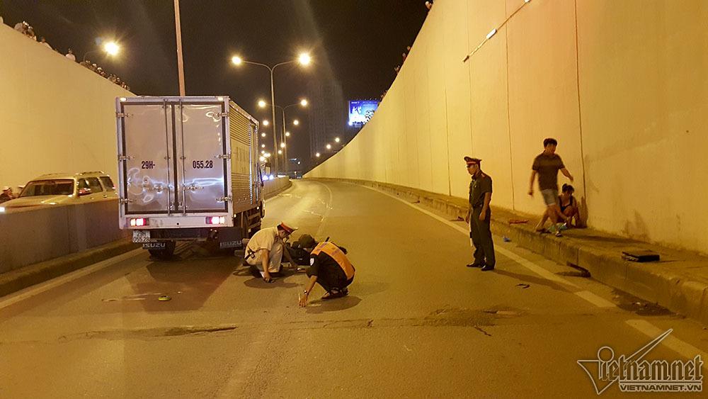 tai nạn, tai nạn giao thông, tai nạn chết người, hầm Kim Liên, Hà Nội