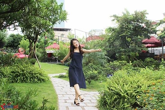 Khánh Vy, Nữ sinh nói 7 thứ tiếng, truyền hình, hotgirl