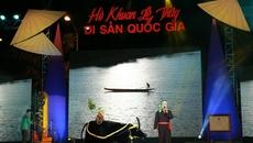 Trao bằng Di sản văn hóa phi vật thể Quốc gia cho Hò khoan Lệ Thủy