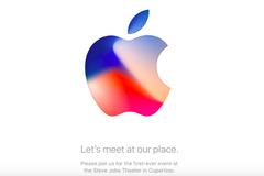 Apple chính thức gửi thư mời sự kiện ra mắt iPhone 8