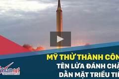 Mỹ thử tên lửa đánh chặn 'dằn mặt' Triều Tiên