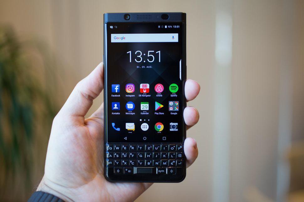 BlackBerry KEYone Black Edition sẽ mở bán trên toàn cầu
