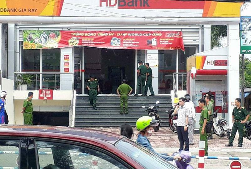 cướp ngân hàng, Đồng Nai, cướp giật