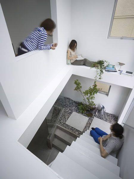 15 mẫu thiết kế giếng trời giúp ngôi nhà nổi bần bật