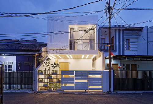 Nhà 2 tầng kiểu mới đẹp miễn chê cho dân phố thị