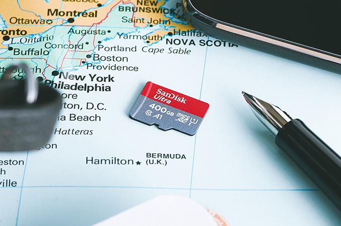 Sandisk, Thẻ nhớ Sandisk, Thẻ nhớ MicroSD