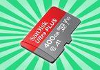 Sandisk giới thiệu thẻ nhớ 400GB, dung lượng lớn nhất thế giới