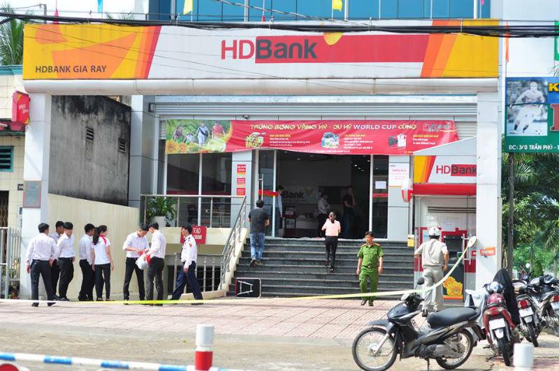 cướp ngân hàng, cướp ngân hàng ở Đồng Nai