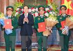 Chủ tịch nước trao quyết định thăng quân hàm Thượng tướng, Trung tướng