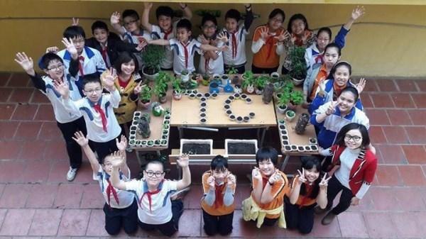 Vườn rau của thầy giáo vùng khó và câu lạc bộ STEM của cô giáo Thủ đô