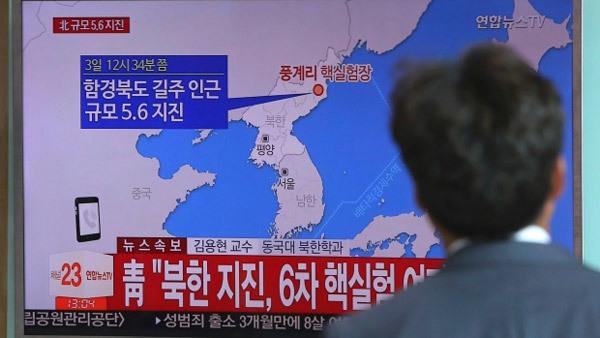 Các nước lập tức phản ứng việc Triều Tiên thử hạt nhân