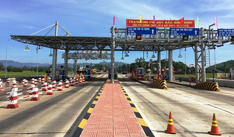 Bình Định đề nghị giảm phí qua 3 trạm BOT