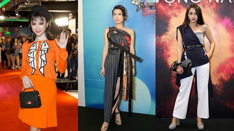 Angela Phương Trinh 'nổi loạn' với phong cách quý bà