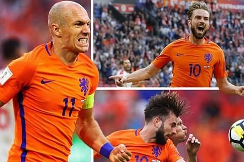 Video bàn thắng Hà Lan 3-1 Bulgaria