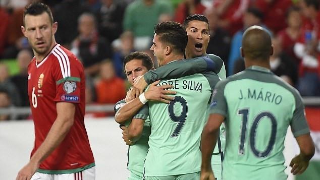 Kết quả bóng đá vòng loại World Cup - Kết quả Hungary 0-1 Bồ Đào Nha