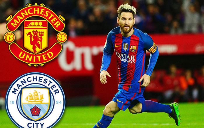 Messi dậy sóng Manchester, Conte thất vọng cùng cực