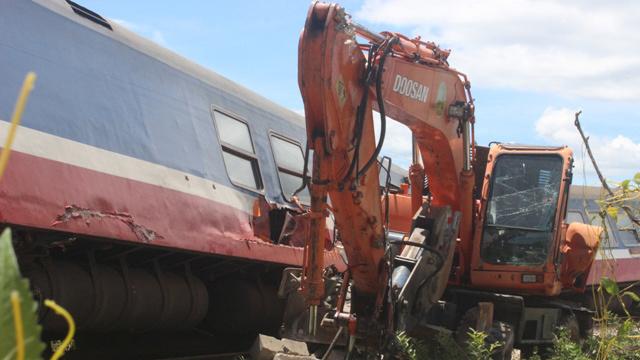tai nạn, tai nạn giao thông, tai nạn đường sắt, lật tàu, Quảng Bình