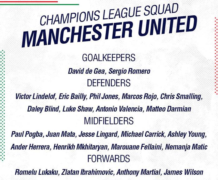 Bất ngờ với 2 cái tên cùng MU dự Champions League