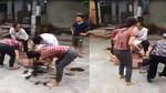 Người phụ nữ bị cạo tóc, lột đồ giữa đường ở Vĩnh Phúc