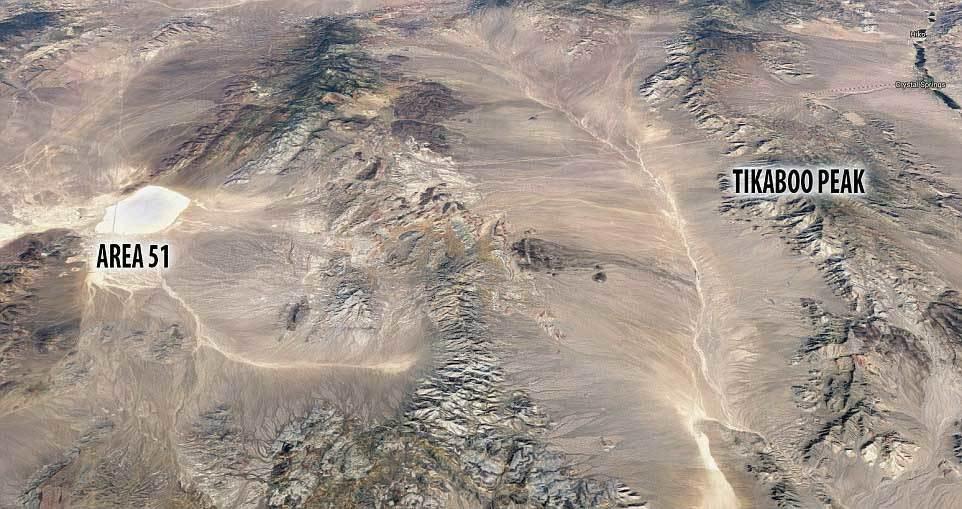 vùng 51, khu vực tối mật, đĩa bay, người ngoài trái đất