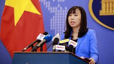 Phản đối Trung Quốc huấn luyện bắn đạn thật ở Hoàng Sa