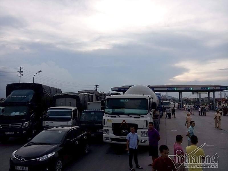 QL5, dùng tiền lẻ trả phí, VIDIFI, Cao tốc Hà Nội - Hải Phòng, Tổng cục Đường bộ, Bộ GTVT, TTGT,